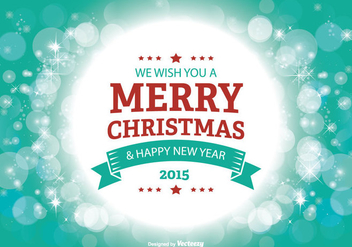 Merry Christmas Illustration - Free vector #303051