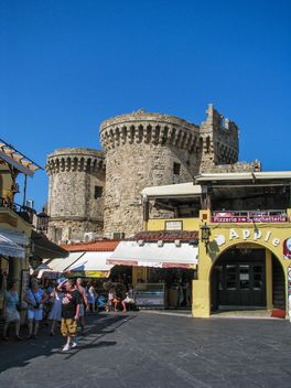 Old town of Rhodes - image #303341 gratis