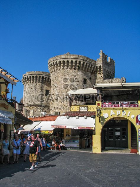 Old town of Rhodes - Free image #303341