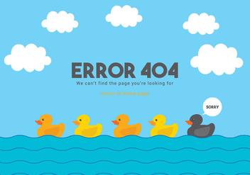 404 Vector - Free vector #303391