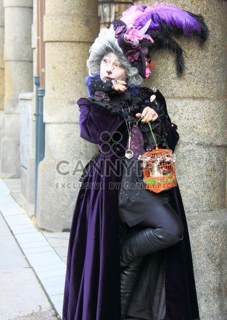 Masken Zauber, Hamburg, the cat carnival costume - Free image #304041