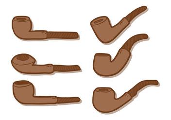 Tobacco Pipe Vector - Free vector #304221