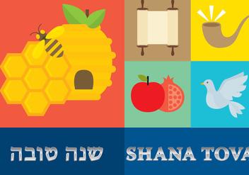 Shana Tova Template - Free vector #304251