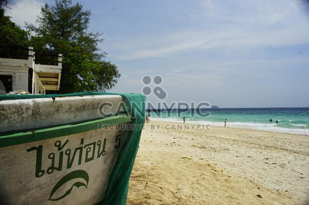 boat on the beach - Free image #304451