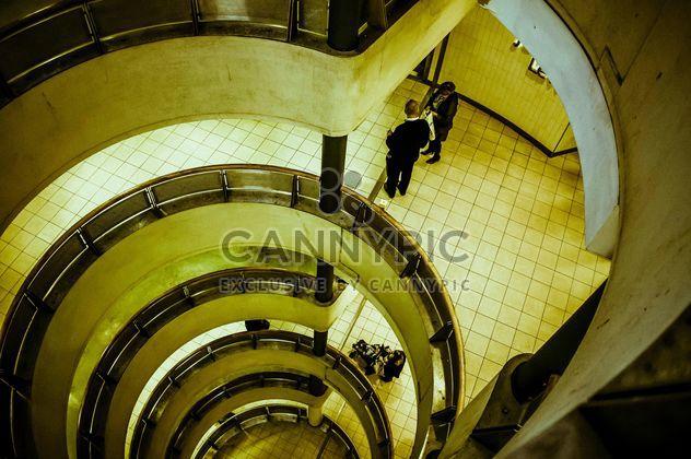 Urban spiral staircase - Free image #304461