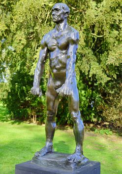 Auguste Rodin exhibition in National park in Gwynedd - image #304491 gratis