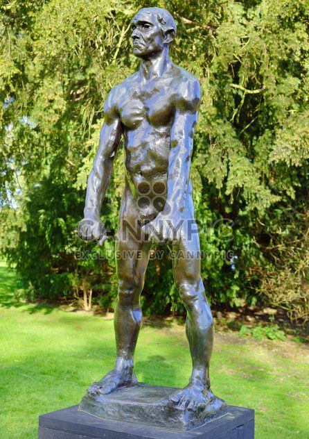 Auguste Rodin exhibition in National park in Gwynedd - Free image #304491