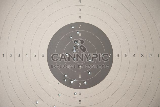 Police shooting target - Free image #304591