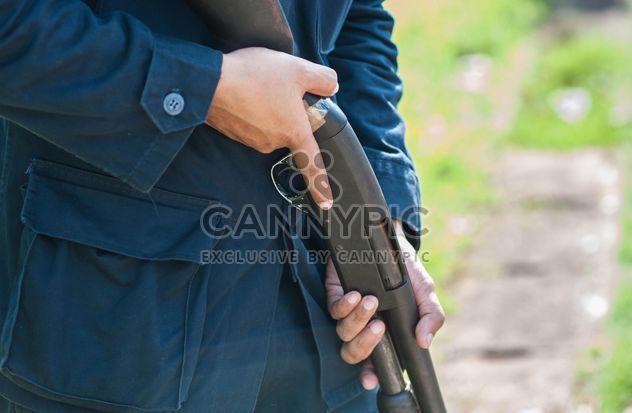 Fusil d'entraînement de police - image gratuit #304601