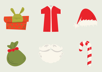 Free Santa's Workshop Vector Illustration - vector gratuit #304791