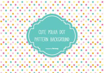 Colorful Polka Dot Background - vector #305051 gratis