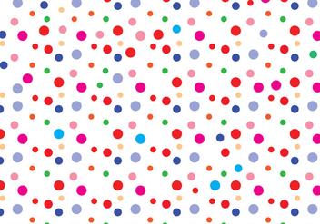 Polka dot pattern vector - Kostenloses vector #305151