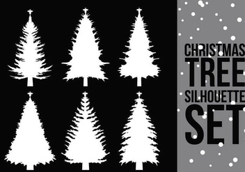Christmas Tree Silhouette 2 - Free vector #305181