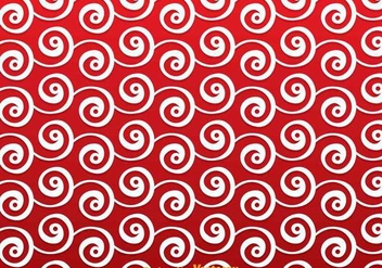 Red Swirly Background - Free vector #305251