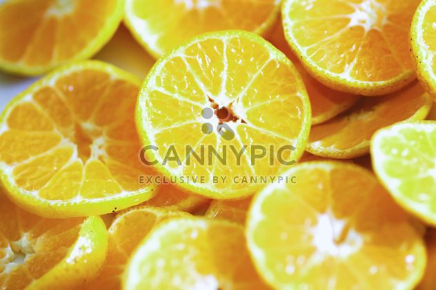 Sliced fresh oranges - Free image #305361