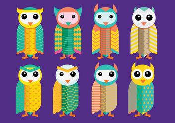 Barn Owl Vectors - бесплатный vector #305441