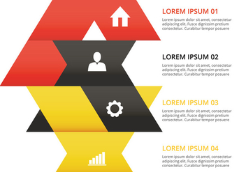 Infographic design vector - Free vector #305581