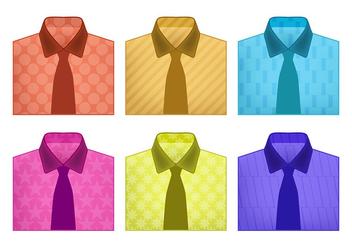 Folded shirt vectors - Kostenloses vector #305591