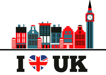 Free Love Uk Vector - Free vector #305621