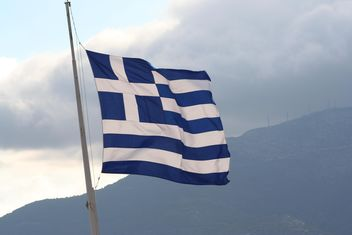 National Flag of Greece - image gratuit(e) #305771