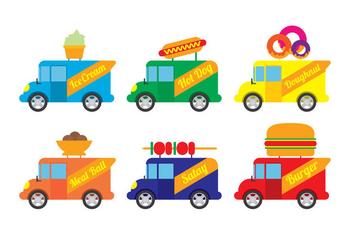 Food Truck Vector - vector #305801 gratis