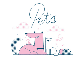 Free Pets Vector - Free vector #305851