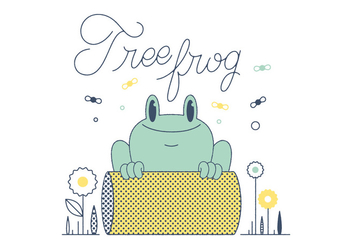 Free Frog Vector - Free vector #305891