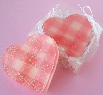 Gingham Sweetheart Soaps - Free image #307981
