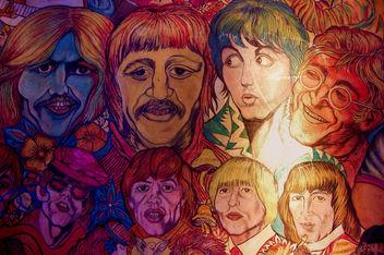 Beatles vs Rolling Stones - image gratuit #308291