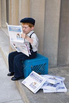 News Boy - Free image #309181