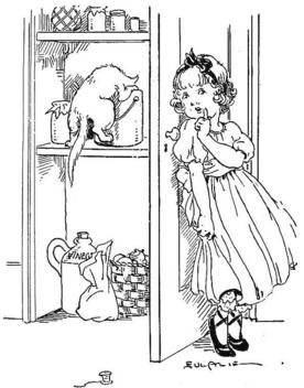 pantry girl - Kostenloses image #309601