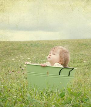tin bucket baby - Free image #313371