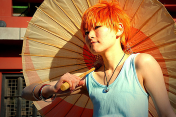 orange-haired - image gratuit #313921