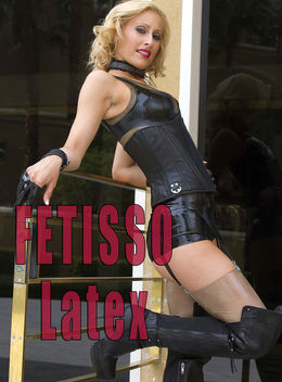Fetisso Latex boy shorts combo 4 - Free image #314861