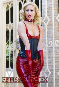 Fetisso Latex Skirt & bra combo 2 - Free image #314891