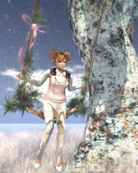 [Pink] Winter - image gratuit #316111
