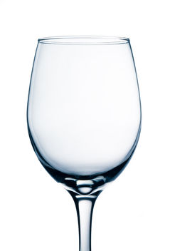 Empty Wine Glass - image #317311 gratis