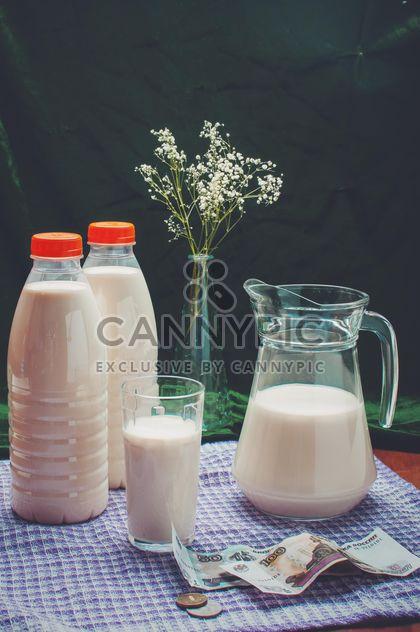 Trois litres de lait cuit au four pour 3 $ - image gratuit #317351