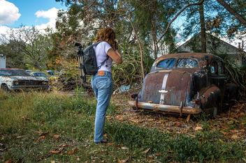 Rusty Pontiac - Free image #320331
