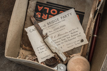 Invitation to Party 1931 - Free image #320551