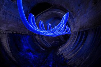 Blue Slalom - Free image #320581
