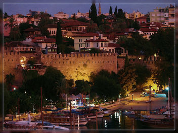 Antalya. View in the evening at the port - image #323021 gratis