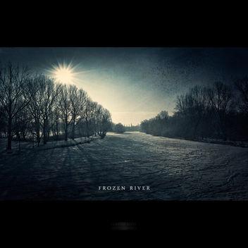 Frozen Saale - Free image #323241