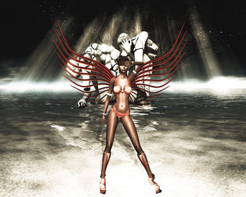 The Angel of the Apocalypse - Free image #325601