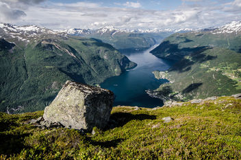 Walk above the fjord - Kostenloses image #327231