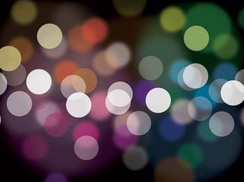 Colorful Defocus Lights Background - vector gratuit(e) #327251