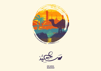 Vector Eid Al Adha - Free vector #327371