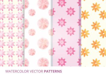 Vector Seamless Patterns - Kostenloses vector #327901