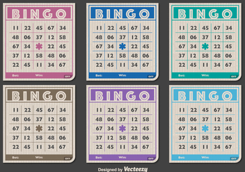 Classic Bingo cards - Free vector #328271