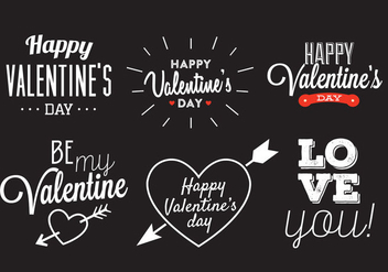 Valentine's Day Vector - Free vector #329421